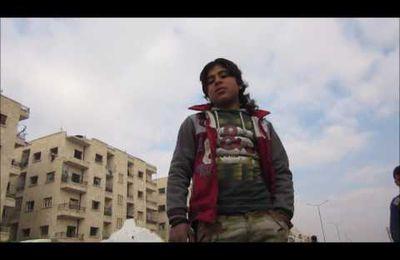 Témoignage d'un enfant sur la libération d'Alep (Vidéo)