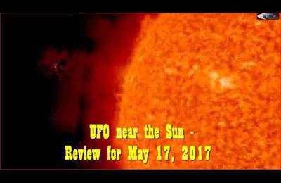 Ovnis & anomalies près du soleil le 17/05/2017 (video)