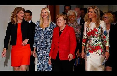 Ivanka Trump huée à Berlin (video media fr)