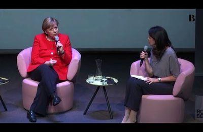 """NOUVEL ORDRE MONDIAL:Merkel prête à la """"discusssion"""" sur le mariage homo en Allemagne (video media fr)"""