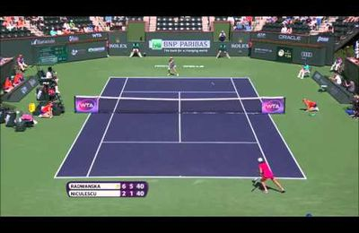 VIDEO du jour: Le passing dingue d'Agniezska Radwanska