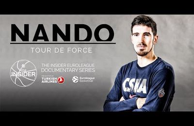 Documentaire Euroleague sur Nando de colo