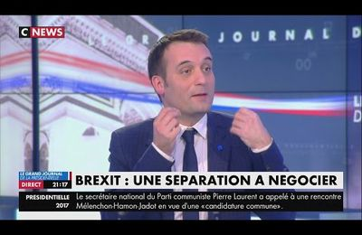 Interview de Florian Philippot (CNEWS, 29/03/17)
