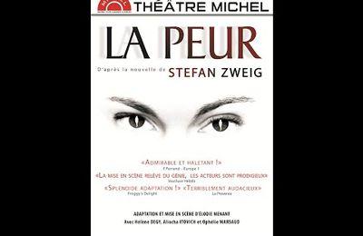 La Peur de Stefan Zweig adapté par Elodie Ménant