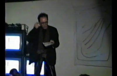 3 RASSEGNA ARTE ELETTRONICA -SEMI DI LUCE...INSINUAZIONI ... 1989...