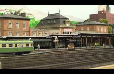 Train miniature HO Chalindrais ligne 2 (2ème réseau d'André Gay) vidéo 18