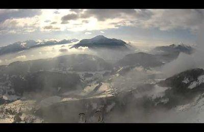 Parapente vol à ski Liberiste
