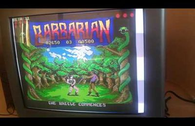 Barbarian sur PC Engine !