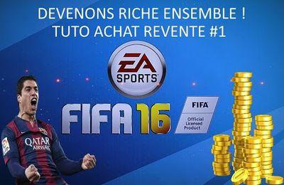 Astuces / fifa 16/ être riche avec 100 000 crédits en 6h...