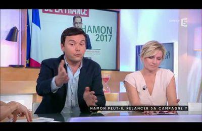 Candidature Benoît Hamon - Thomas Piketty chez #Càvous
