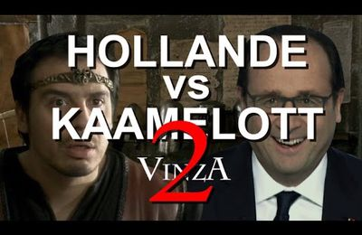 Hollande vs Kaamelott