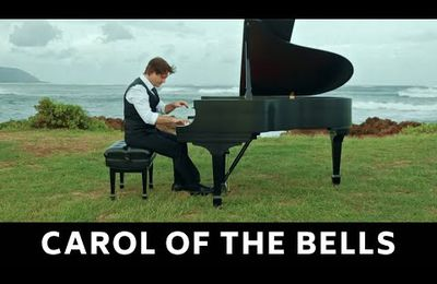 David Hicken : Carol of the Bells - Amazing Piano Solo