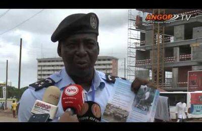 [Angola] Polícia Nacional sensibiliza população sobre sinistralidade rodoviária