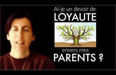 Devoir de loyauté envers mes parents - Isabelle Padovani