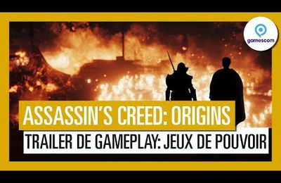 ACTUALITE : Découvrez le #trailer de #Gameplay d'#AssassinsCreedOrigins