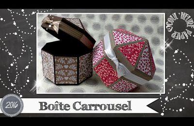 "Vidéo-Tuto ""Boite Carrousel"""