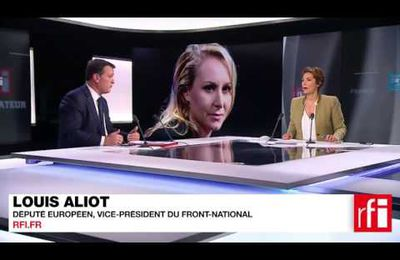 Louis Aliot sur RFI et France 24