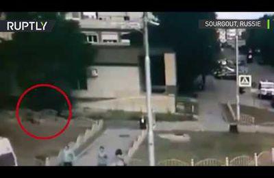 Attaque au couteau en Russie : nouvelles images de la neutralisation de l'assaillant