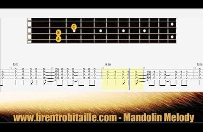 Mandolin Tab - Chords - Losing My Religion - Play Along