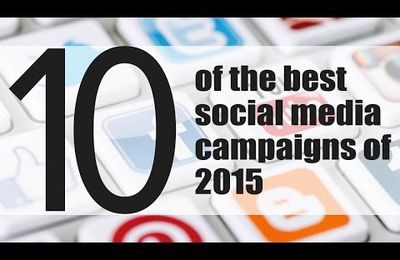 Best Of Social Media Campaigns 2015