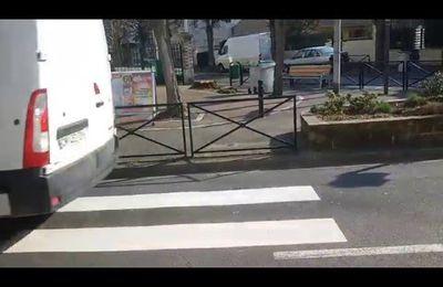 Vidéo. Le passage piéton le plus dingue est à Aulnay-sous-Bois !