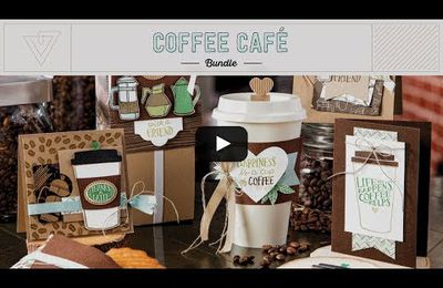 STAMPIN'UP vidéo gratuite Pause café / Coffee Café Bundle by Stampin' Up!