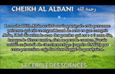 Faites vos invocations de protection! L'histoire d'Abân Ibn Uthmân Ibn 'Affan
