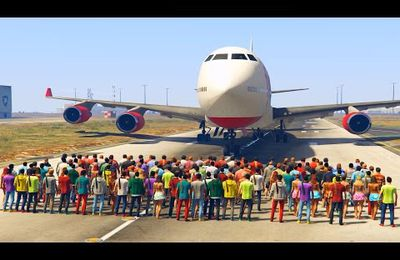 GTA V - Arrêter un avion cargo
