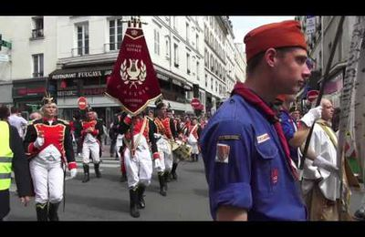 Procession en l'honneur de Saint Martin. Paris/France - 21 mai 2016
