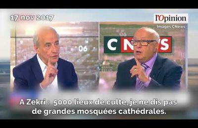 Un responsable du CFCM demande 2500 lieux de culte en plus pour les musulmans