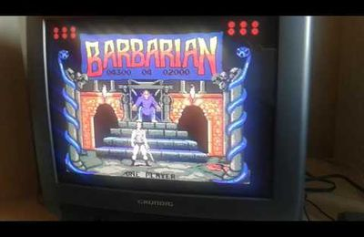Barbarian sur PC Engine... 96% !