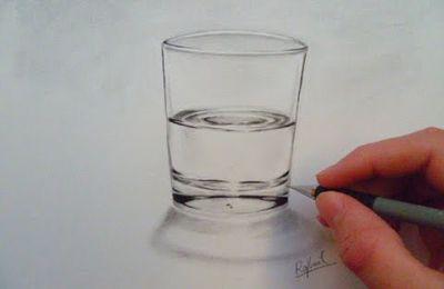 Apprendre à dessiner un verre