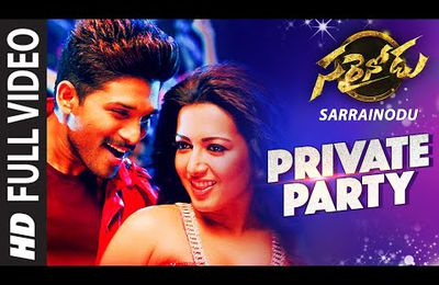 ALLU ARJUN - SARRAINODU - VIDEO SONGS
