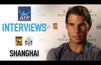 Vidéo - Shanghaï - Interview après le match vs Fognini