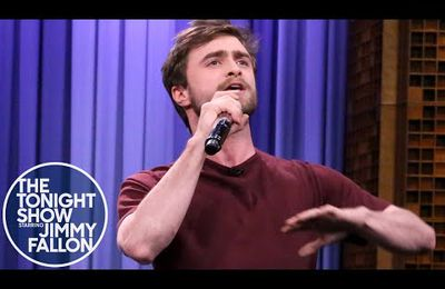 A, B, C... Harry Potter raps the ALPHABET !