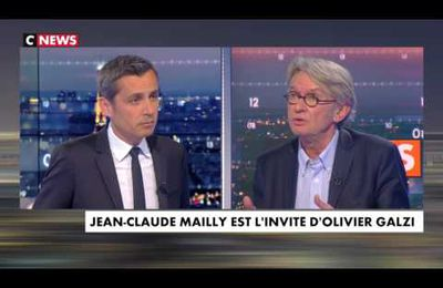 Jean-Claude Mailly invité d'Olivier Galzi...