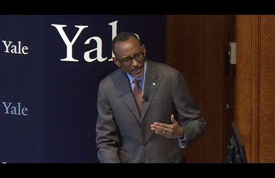 Isomo rya Mwalimu Paul Kagame i Yale, abanyeshuli be basanze ari amahomvo!