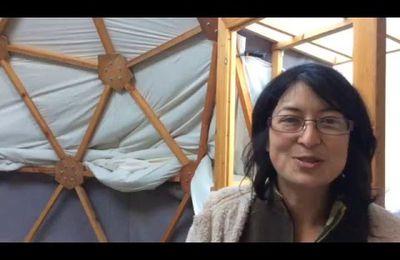 Triune, Couturière de maisons nomades, Dôme, Tipi