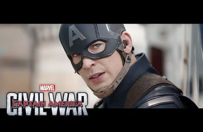 Bande annonce finale de Captain America : Civil War !