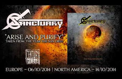 New song and video from SANCTUARY