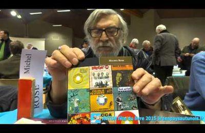 Reportage sur Michel Rose à la Fête du livre d'Autun