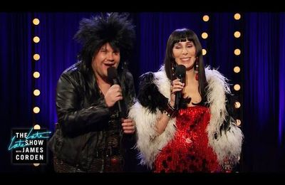 Cher et James Corden : Late late show