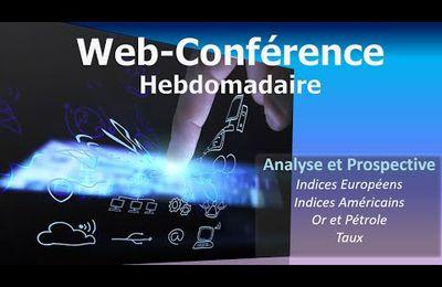 Webconférence hebdo: analyse des marchés