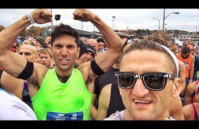 TCS New York City Marathon 2015 (45^ ed.). La maratona nella Grande Mela vista in soggettiva da Casey Nestat