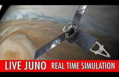 NASA Juno Live: simulation en temps réel