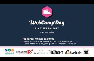 Conférence Webcampday micro Influenceurs