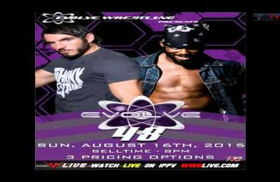 INDY-TOUR 18 AOUT 2015 : EVOLVE 47-EVOLVE 48-TOMASSON CIAMPA