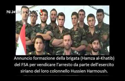 RAI-TV, tra mala-fede e mala-informazione: terroristi spacciati per soldati patrioti siriani,