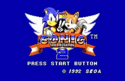 Sonic 2 Master System Remastered Full-HD