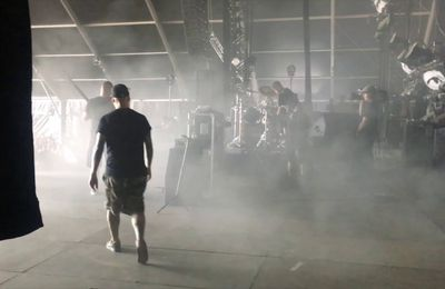 Video exclusive Loud TV ! NOSTROMO avant de monter sur scene au Hellfest 2017
